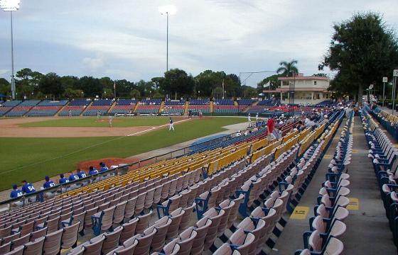 Holman Stadium Vero Beach Fla