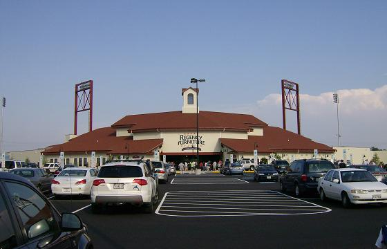 Main Entrance To Regency Furniture Stadium, Jun 2008.