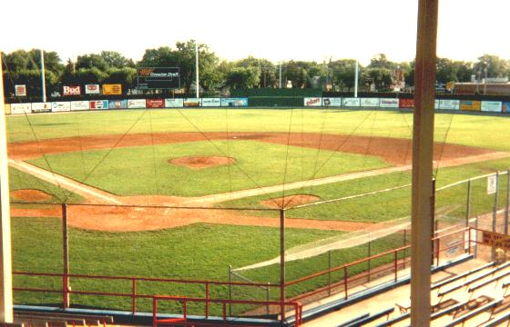 Goodland Field in Appleton, Wisconsin. Home to the