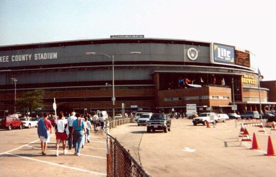 Milwaukee Co. Stadium, Milwaukee, Wis.